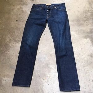 Other - Men's Levis Made & Crafted Ruler Straight Jeans 34